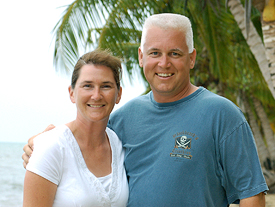 Doug & K.T. Ingersoll, owners of Caribbean Island Brokers