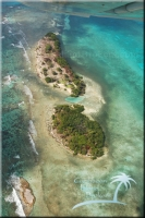 Reef Caye on the Turneffe Atoll is an island for sale in the Caribbean