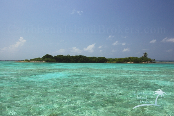 North Pelican Caye, Island for sale in the Caribbean