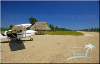 Paved airstrip at Kanantik Reef and Jungle Resort