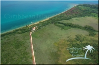 Aerial of Kanantik resort for sale