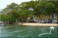Shore of Sunset Caye