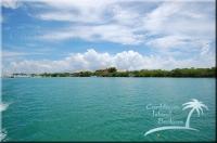 lagoon behind bannister